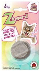 Cat Love Zingers! Heat pressed catnip toy - Oval shape - 8.5 g