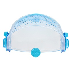 Habitrail OVO Retractable RoofClear Blue
