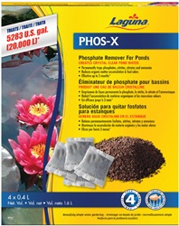 Laguna Phos-X Phosphate Remover - Treats up to 20 000 L (5283 US gal.)