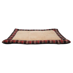 Dogit DreamWell Dog Sleeping Mat - Red Tartan - 80 x 60 x 4 cm (31 x 23.5 x 1.5 cm)
