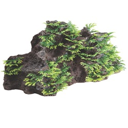 Fluval Foreground Rock - 17.7 x 9.5 x 7.6 cm (7  x 3.75  x 3 in)