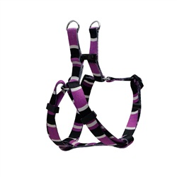 Dogit Style Adjustable Step In Dog Harness, Cobra, Purple, XX-Small