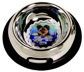 Dogit Stainless Steel Non Spill Dog Dish, Small, 473ml (16 fl oz)