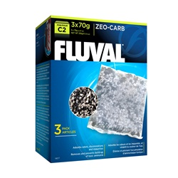 Fluval C2 Zeo-Carb, 3-pack