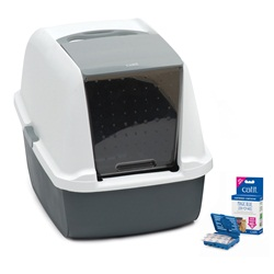 Catit Magic Blue Litter Box - Regular
