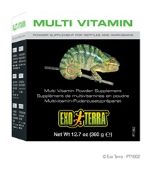 Exo Terra Multi Vitamin Powder Supplement  12.7oz / 360g