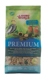 Living World Premium MixFor Cockatiels & Lovebirds, 908 g (2 lb)