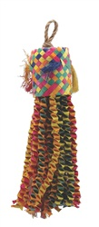 Living World Nature's Treasure Bird Toy Buri Piñata, For medium hookbills