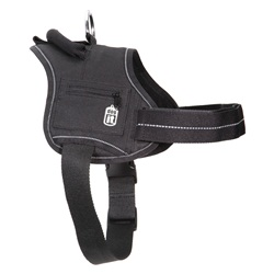 Dogit Padded Harness - Small - Black - 47 cm