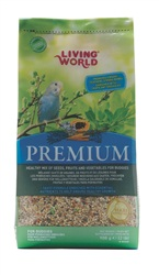 Living World Premium Mix For Budgies - 908 g (2 lb)