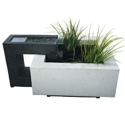 Laguna Décor Picassa decorative water feature kit, urban style collection