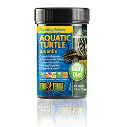 Exo Terra Aquatic Turtle Juvenile Floating Pellets - 0.7oz, 21g