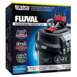Fluval 107 Performance Canister Filter, up to 130 L (30 US gal)