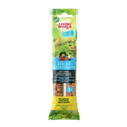 Living World Canary Sticks, Vegetable Flavor, 60 g (2 oz),2-pack
