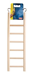 "Living World Wooden Bird Ladder 7 Steps  30 cm (12"") Long"