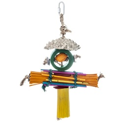 HARI Rustic Treasures Bird Toy Rasta Man - Large