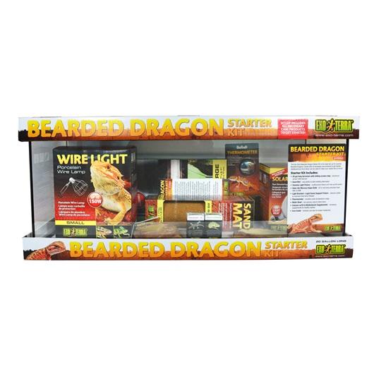 Exo Terra Bearded Dragon 20 Gal Long Starter Kit Ebay