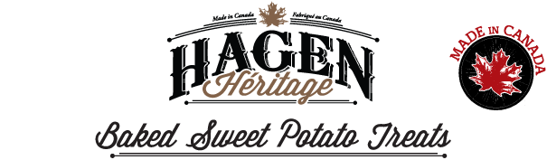 Hagen Heritage: Baked Sweet Potato Treats for dogs